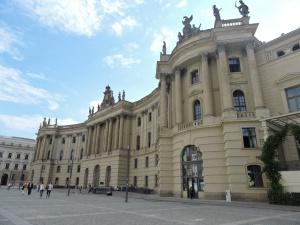 Facultad de derecho en Bebelplatz