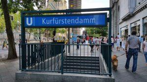 Estación Kurfürstendamm en Berlín