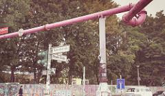 Tubos rosas de Berlín - Imagen de Tony Webster